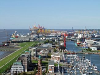 Container-Aussichtsturm Bremerhaven