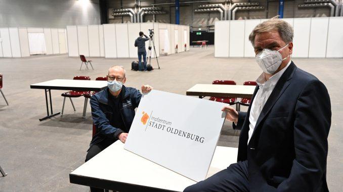 Impfzentrum - Quelle: Pressemeldung Stadt Oldenburg