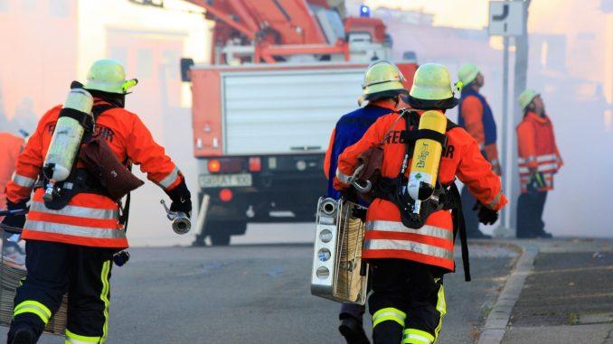 Finanzminister Hilbers - Ehrenamt Feuerwehr